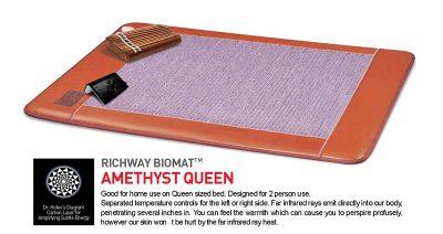 Richway-Amethyst-Biomat-7000MX-Queen-Size